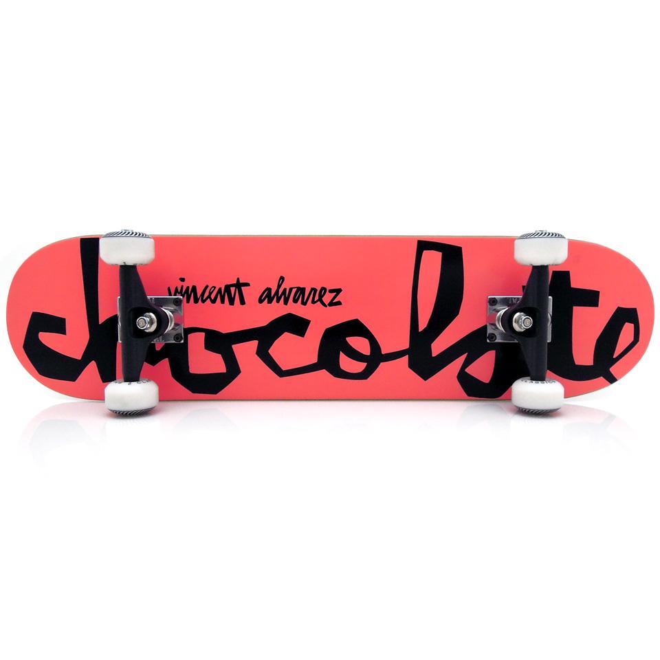 コンプリートデッキ スケボー スケートボード 通販 Chocolate チョコレート Vincent Alvarez