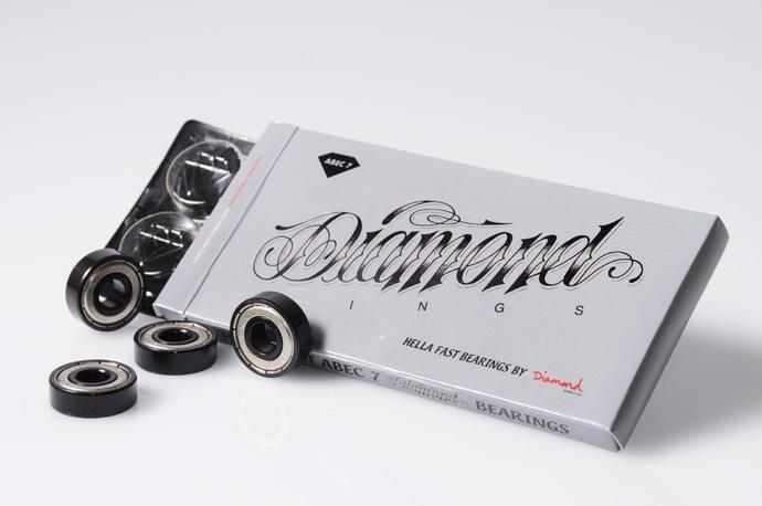 スケボー スケートボード 通販ショップHi5店長のお買い物 Diamond Supply co. ベアリング