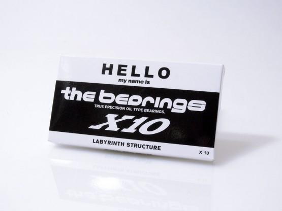 スケボー 通販 ベアリング THE BEARING X10 ケース