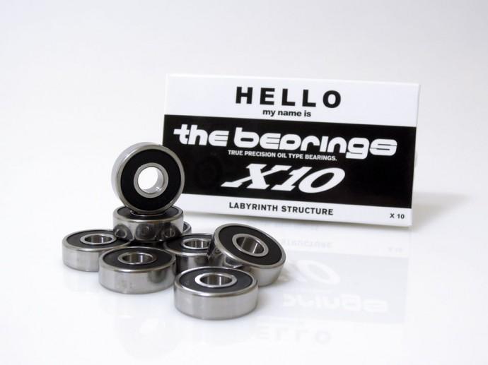 スケボー 通販 ベアリング THE BEARING X10 スケボー1台分