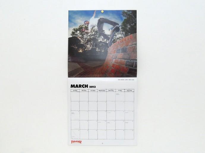 Thraser スラッシャー 2013年カレンダー マーク・ジョンソン