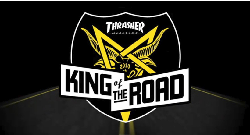 THRASHER KING of THE ROAD