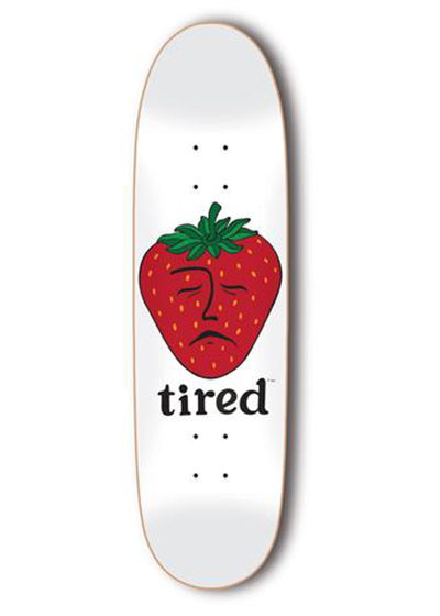TIRED STRAWBERRY 8.625インチ