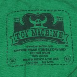 Toy Machine Skateboards Turtle Face T-Shirt 05