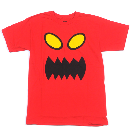 Toy Machine Skateboards Monster Face T-Shirt 01