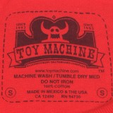 Toy Machine Skateboards Monster Face T-Shirt 06