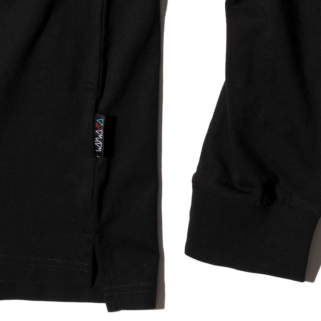 WAYWARD WHEELS DRIFTERR L/S Tシャツ ブラック