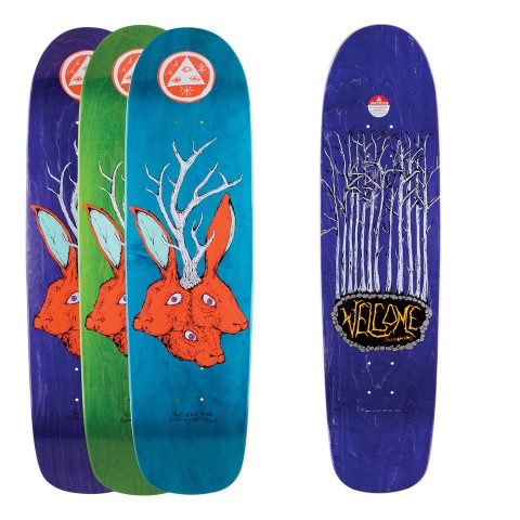 WELCOME デッキ スケボー スケートボード Bunny Heads