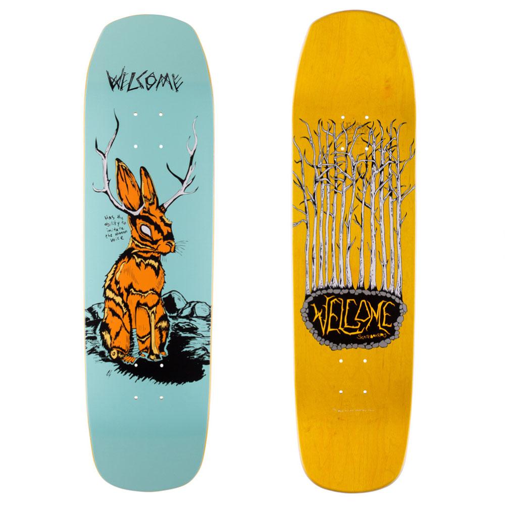 WELCOME デッキ スケボー スケートボード Jackalope