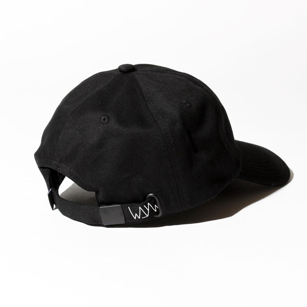 WAYWARD WHEELS BIGTYME キャップ ブラック