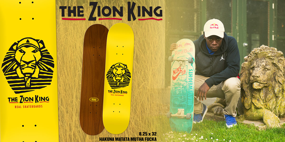 REAL ZION KING デッキ