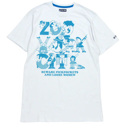 ZOOYORK Skateboards Loose Women T-Shirt 01