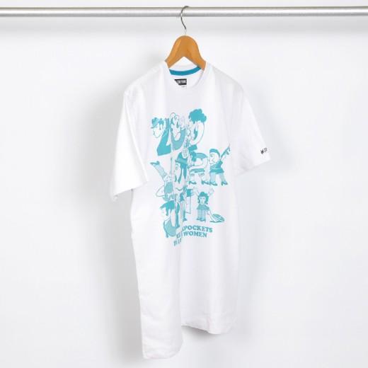 ZOOYORK スケボー スケートボード Tシャツ Loose Women T-Shirt